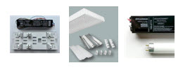 Fluorescent Lighting Retrofit Kits