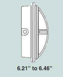 cfl vandal resistant cross guard light fixtures compact. Black Bedroom Furniture Sets. Home Design Ideas