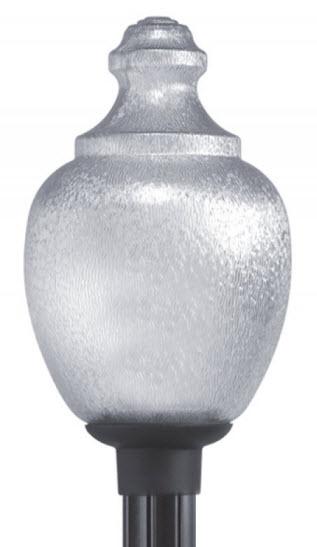 Acorn Polycarbonate Globe 23 Inch HPS Light Fixture