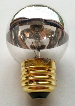 G16 Half Chrome Medium Base Globe Light Bulbs Shop Great