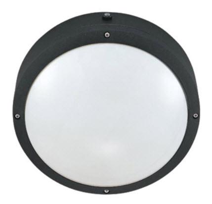 hudson 10 round compact fluorescent light fixtures buylightfixtures. Black Bedroom Furniture Sets. Home Design Ideas