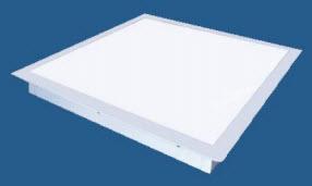 2x2 led flat panel light fixtures 35 or 45 watt buylightfixtures. Black Bedroom Furniture Sets. Home Design Ideas