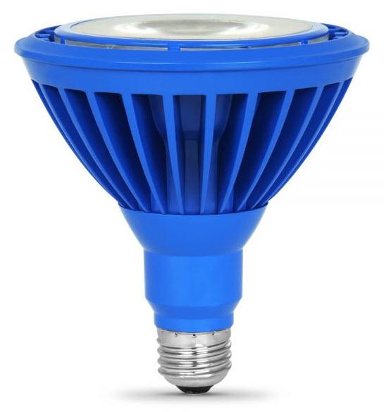 Led Par38 Blue Flood Light Bulbs