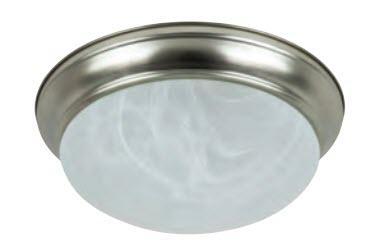 LED Decorative Alabaster Dome Light Fixture