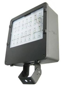 led large flood light fixture with 112 watts