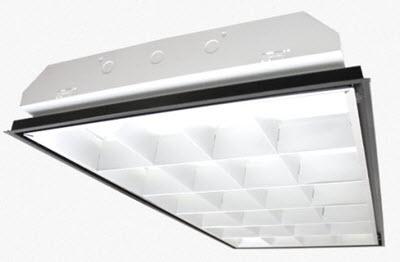 parabolic 2x4 24-cell office light fixtures | 2x4 parabolic light
