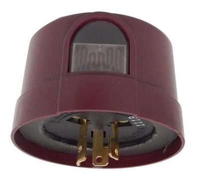 photocell lock plug lighting control 208 277 volt shop. Black Bedroom Furniture Sets. Home Design Ideas