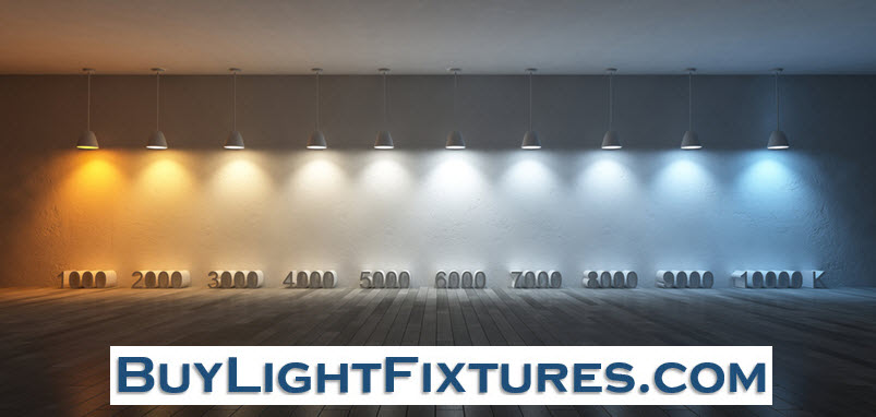 Lighting Color Temperature Reference