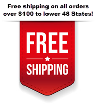 Free shipping on $100 or more at BuyLightFixtures.com