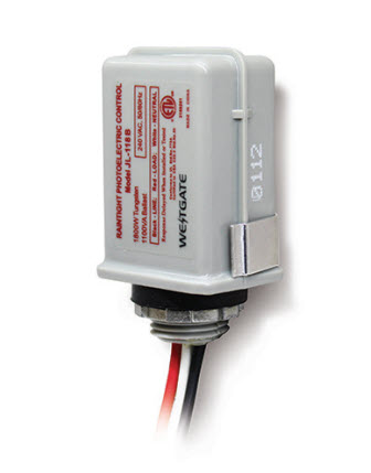 Westgate stem mount photocell lighting control 120 volt 1800 watt