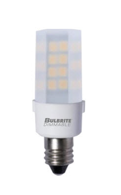 KX2000 LED Light Bulbs - 4.5 Watt - E12 Base - Frosted