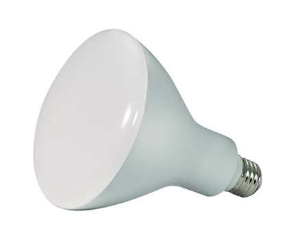 BR40 dimmable LED light bulbs - 12 watt - 5000K