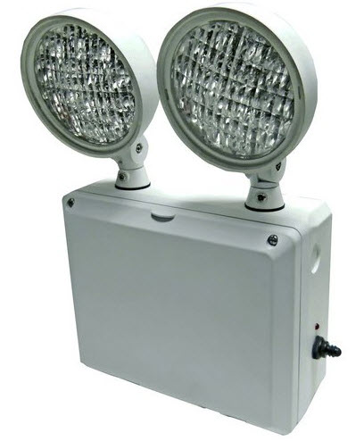 LED cold weather wet location emergency light