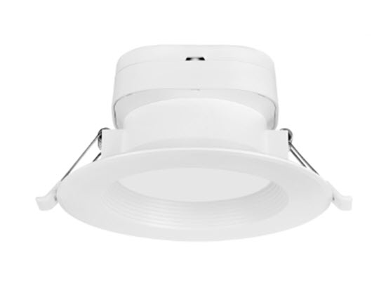 Nuvo LED Direct Wire Down Light Fixture - 6 Inch - 3000K