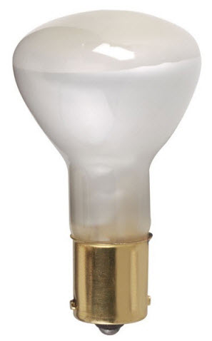 1383 flood light bulbs used in small fixture, a lot in elevators.