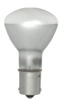 1383 shatter resistant flood light bulbs to contain any potential broken glass.