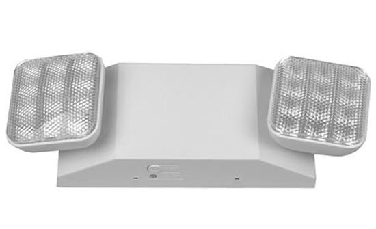2-head emergency light