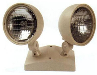 Dual Head Remote egress lighting
