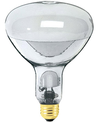 EYE Self Ballasted R40 Mercury Vapor Light Bulbs   160 Watt