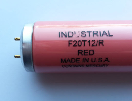 F20t12 Red Fluorescent Light Bulbs