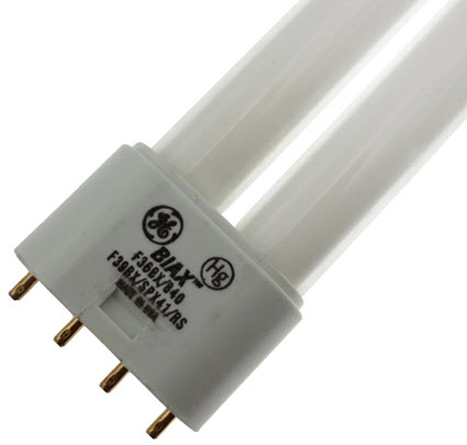 GE F39BX SPX41 long biax fluorescent bulbs