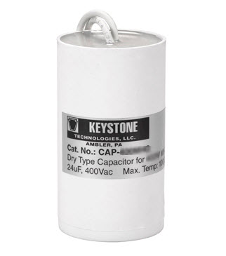 Metal halide dry capacitor