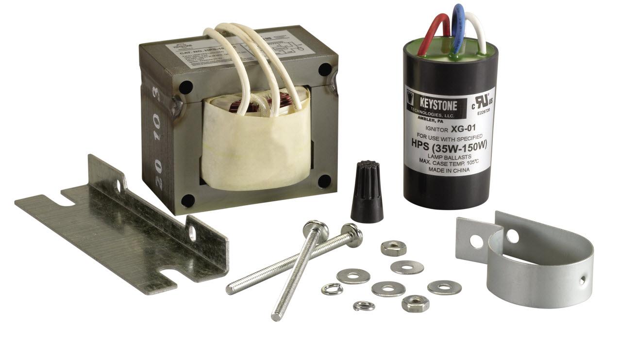 HPS 100 Watt Ballast Kit XLarge 100 watt high pressure sodium ballast kits