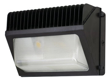 LED wall pack light fixture - 70 watts