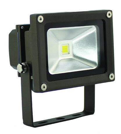 LED 12 volt flood light fixture