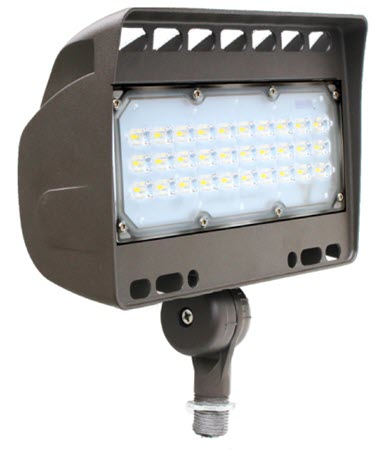 12 volt flood LED lighting fixture - 50 watt - 3000K