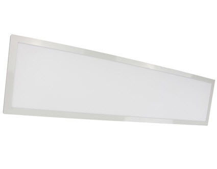 Mobern 1x4 LED surface mount panel light fixture with 40 watts 4000K