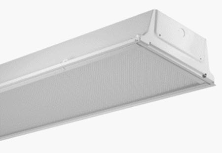 Mobern LED 1X4 Troffer Light Fixture - 48 Watt - 5000K