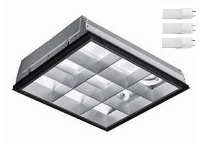 Office Lighting Fixture 2x2 Parabolic