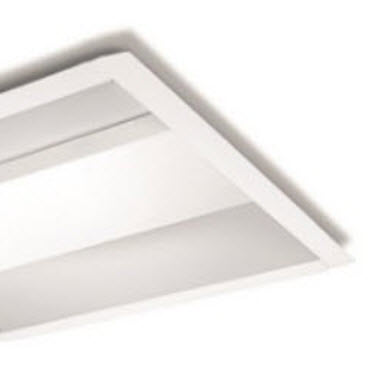 Led 2x4 Direct Indirect Center Basket Light Fixture