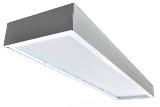 LED surface mount troffer 2X4 troffer light fixture