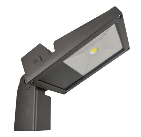 LED 52 watt flood light fixture