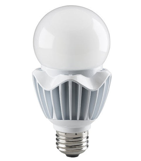 Satco LED High Lumen A25 Light Bulbs - 35 Watt - 2700K - Mogul Base