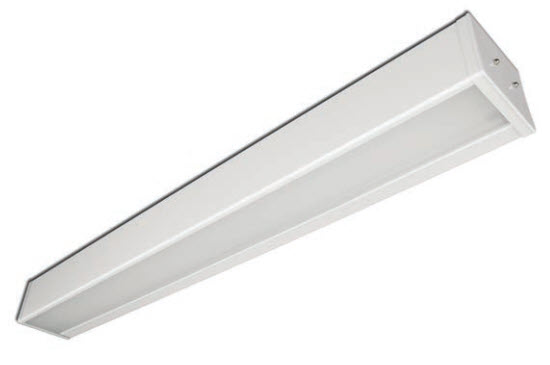 LED bed light fixture - 4 foot - 2 up / 1 down - (3) 3500K lamps included