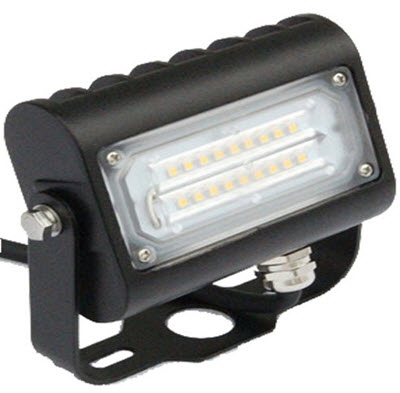 LED bracket mount flood lighting fixture - 15 watt