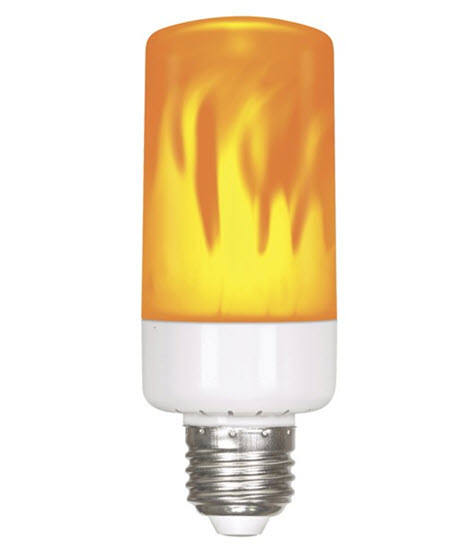 LED flame light bulbs