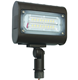 LED flat panel flood light fixture