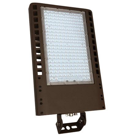 led flat panel yoke mount 120 277 volt light fixture with. Black Bedroom Furniture Sets. Home Design Ideas