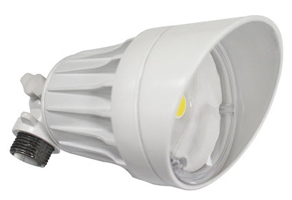 LED 10 watt visor white  lighting fixture - 5000K