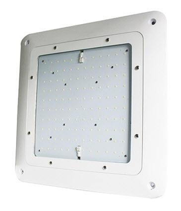 LED gas station light fixture - 150 watt  sc 1 st  BuyLightFixtures.com & LED gas station canopy light fixture - 150 watt | LED gas station ...