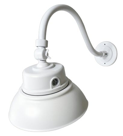 Gooseneck Wall lights - White Finish - 40 Watt LED - 5000K