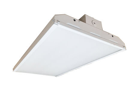 LED high bay lighting fixture with 165 watt.