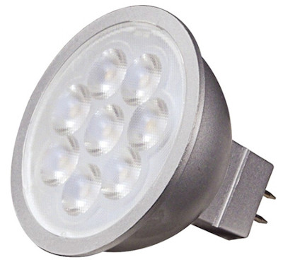 LED MR16 7 watt flood light bulbs