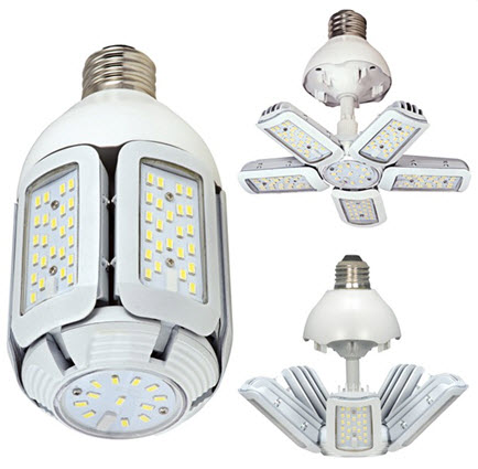 Satco Led Multi Beam Corncob Light Bulbs 40 Watt