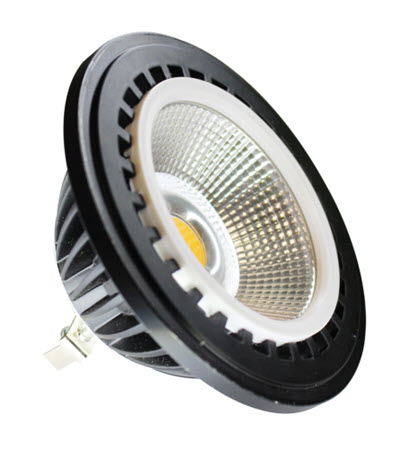 LED PAR36 lamp with 12 watts 4000K