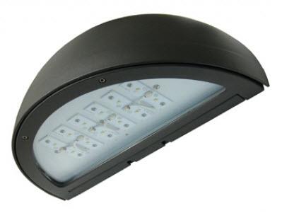 Led 30 watt cutoff wall pack light fixtures led 30 watt rounded cutoff wall pack light fixture aloadofball Images